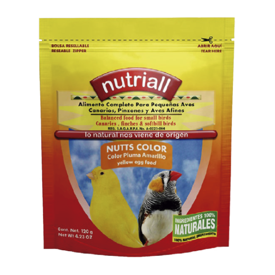 Nutriall Nutts Color Amarillo