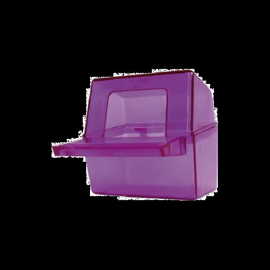 Comedero Cubo Cristal