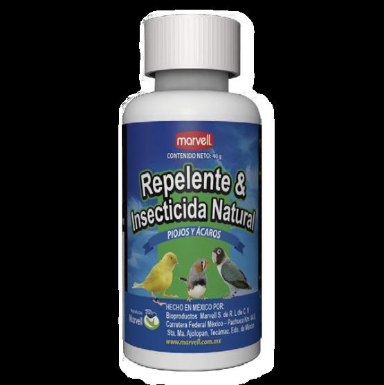 Repelente e insecticida natural