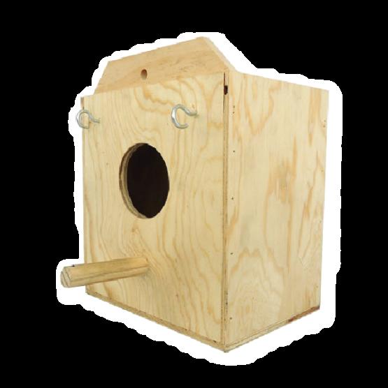 Nido madera Agaporni