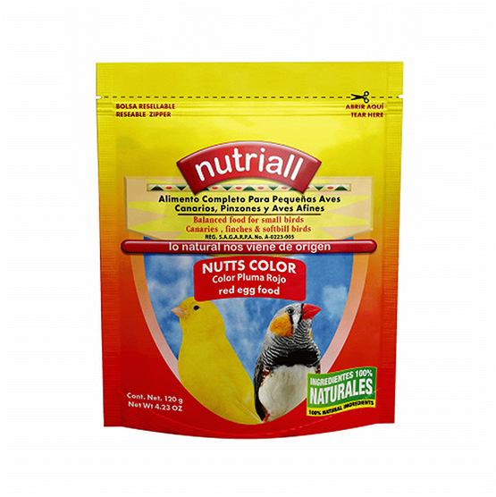 Nutriall Nutts Color Rojo